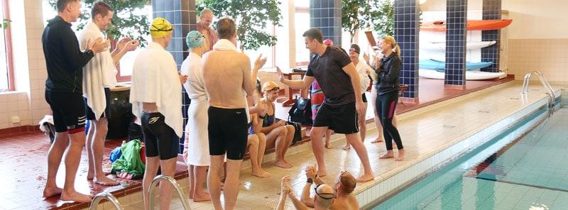 Undervisning i simning, löpning och längdskidåkning